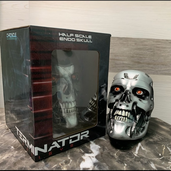 Terminator Half Scale Terminator Skull